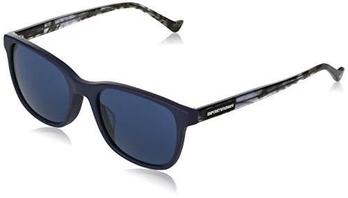 Gafas de sol Emporio Armani EA 4139 F Ajuste Asiático 575480 Mate Azul