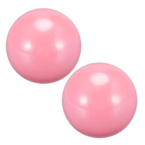 uxcell Joystick Ball Top Handle Rocker Round Head Arcade Fighting Game DIY Parts Replacement Pink 2Pcs