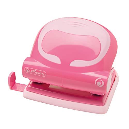 Herlitz 50025398 Bürolocher 2,0mm, Ergonomie, indonesia pink, 1 Stück