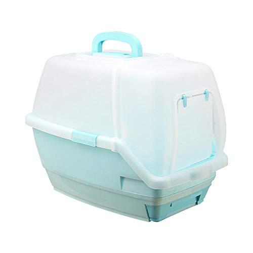 Axiba Huisdier toilet All-ingesloten luxe lade kat zand wastafel Pine kat toilet huisdier sanitaire Producten, B