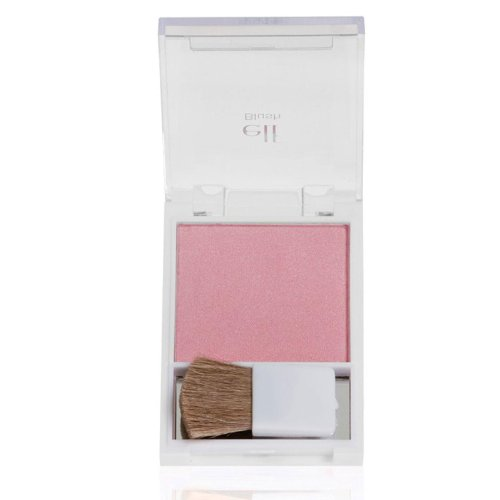 e.l.f. Blush with Brush, Shy, 0.21 Ounce