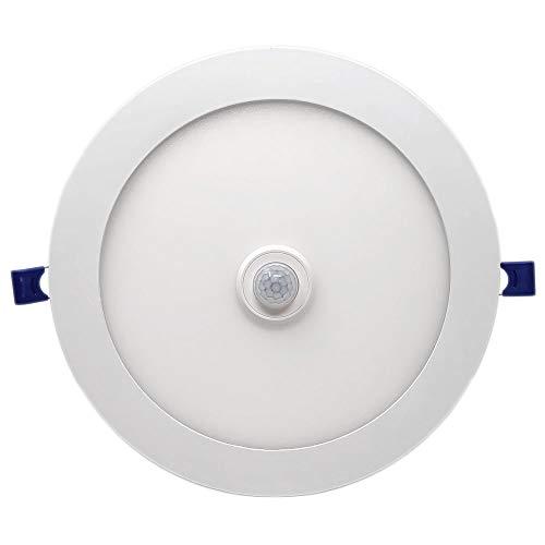 FactorLED Downlight circular LED extrafino de techo con sensor de...