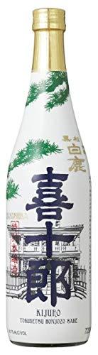 yoaxia ® - [ 720ml ] HAKUSHIKA Kijuro Tokubetsu Honjozo Sake/Alkoholhaltige Getränk aus Reis 14,5% vol Japan