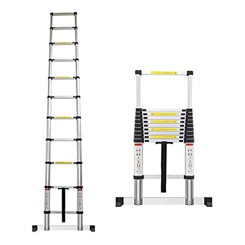 Teleskopleiter Leiter Treppenleiter Teleskopleiter 8m/ 7m/ 6m/ 5m/ 4m/ 3m/ 2m/ 1m, Aluminium Ausziehbare Teleskopleitern für Dach-RV-Dachboden im Freien Innengebrauch, Last 150kg (Size : 7m/23 ft)