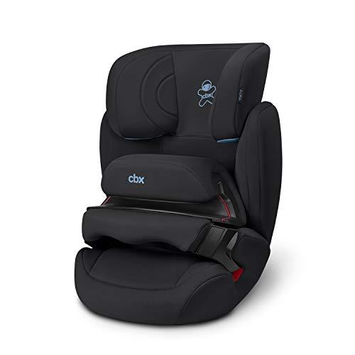 cbx Kinder-Autositz Aura, Gruppe 1/2/3 (9-36 kg), Ab ca. 9 Monate bis ca. 12 Jahre, Ohne ISOFIX, Cozy Black