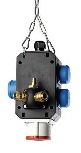Energiewürfel Lichtenfels mit 3 Steckdosen, 1x CEE 400V, 16A, Druckluftanschluss Art. 606