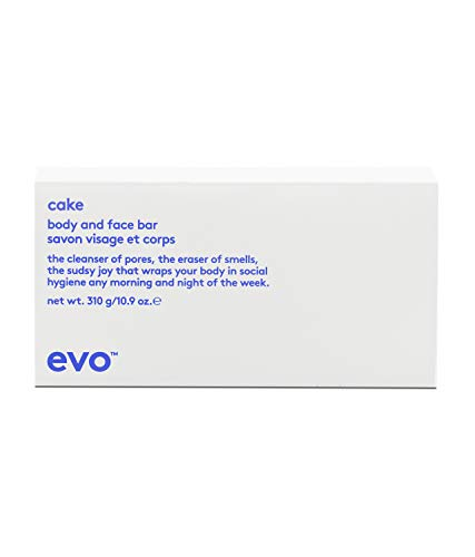 Evo Cake Cleanser of Pores Body and Face Bar 310g