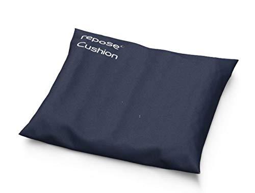 Repose luftgefülltes Sitzkissen mit Bezug und Auffüllhilfe