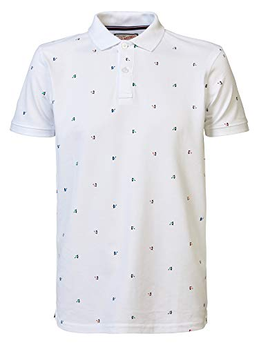 Petrol Industries Poloshirt Herren M-1000-POL929 Bright White, XL