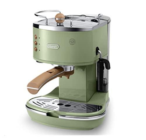 ECO31 0 Máquina semi-automática Cafetera Retro PinUp Pumping Hogar Breet All-in-One (Color : 1#)