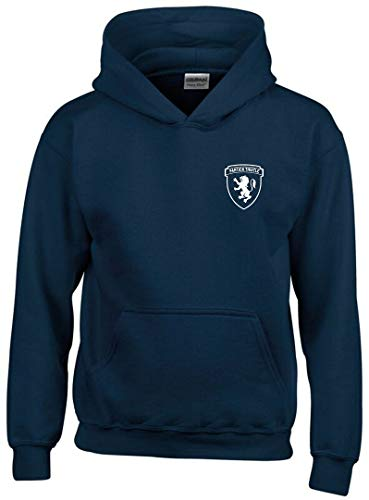 Partick Thistle Club And Country Hoodie Mens Navy MEDIUM