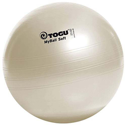 TOGU My Soft Exercise Ball - Pearl White, 45 cm