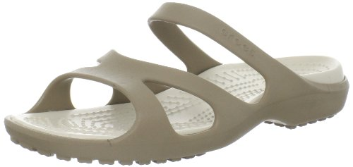 Crocs Womens Meleen Fashion Sandals Khaki/Stucco 3 UK