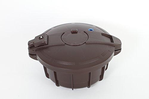 Smart Cooker Schnellkochtopf f. die Mikrowelle m. Dämpfeinsatz Ø 18,5cm innen 880088 BA 00