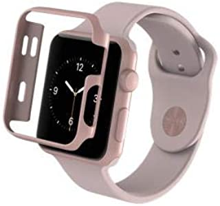 ZAGG Luxe Apple Watch Protective Bumper Case - (Rose Gold, 38mm)