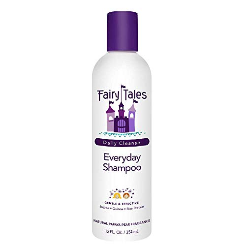 Fairy Tales Daily Cleanse Everyday Kids Shampoo - Gentle Natural Defining Shampoo, Tangle Free, Moisturizing and Hydrating Formula, Paraben Free - 12 oz