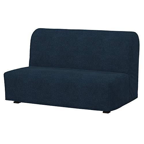Soferia Funda de Repuesto para IKEA LYCKSELE sofá Cama 2 plazas, Tela Strong Denim, Azul