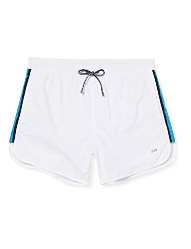BOSS Shiner Pantalones Cortos, white100, L para Hombre