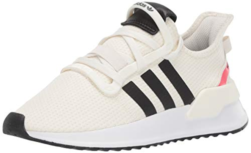 adidas Originals Men's U_Path Running Shoe, Off Off White/Black/shock Red, 11.5 M US