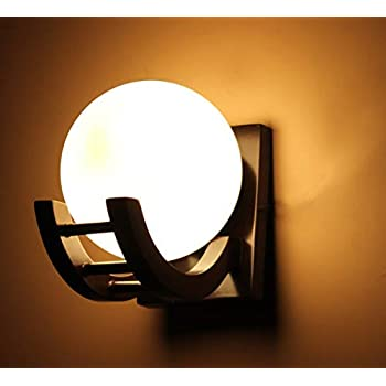 Imper!al Wooden Wall Light/Wall Hanging Lamp for Bedroom, Living Room, Home Decor (Brown)