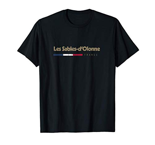 Jaime Les Sables-dOlonne Nom de Ville en France T-Shirt