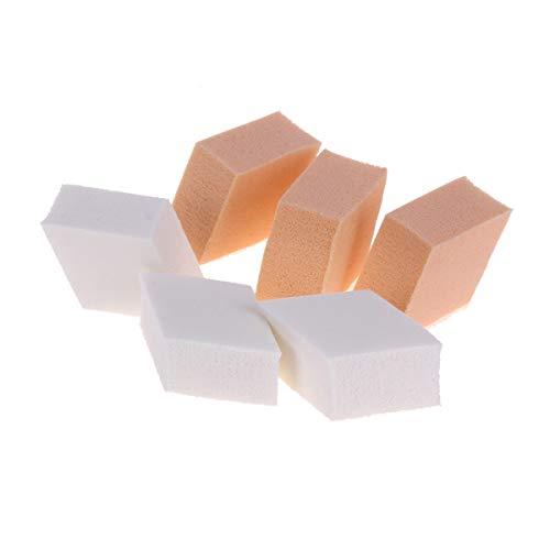 Pinceaux De Maquillage Maquillage 15pcs Éponge Fond De Teint Face Powder Puff Crème Visage Lisse Cosmétiques Puff Make Up Éponges, Brosses De Peau Tactile (Color : As Show, Size : One Size)