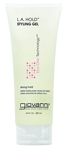 Giovanni L.A. Hold Styling Gel - Extreme Hold Hair Gel with Surface Enhancers, 6.8 Ounce (Pack of 1)