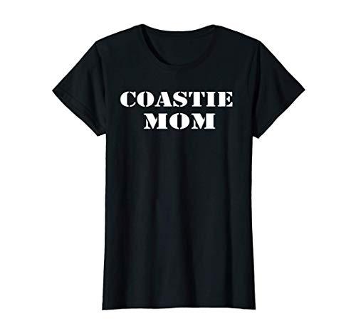 Mujer U.S. Coast Guard Original USCG Gift Proud COASTIE Mom Camiseta
