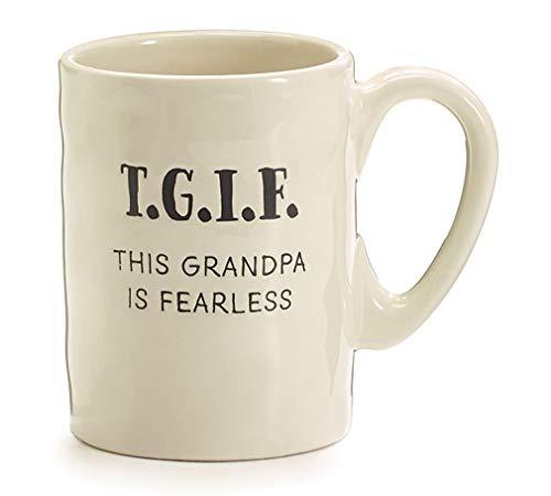 Burton & Burton Mug Tgif This Grandpa Is Fabulous