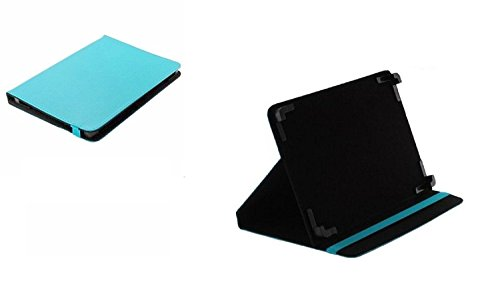 Markenlos Bookstyle Tablet Hülle Book Hülle Blau +Standfunktion Medion LifeTab X10607 Tablet schwarz (MD 60658)