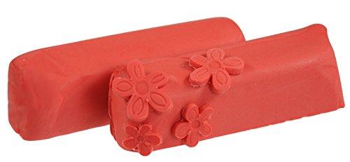 Hobbybäcker Fondant rot, ► Rollfondant, Dekormasse für Torten, Tortendeko, Fondant-Figuren, Fondant-Blumen, 250 g