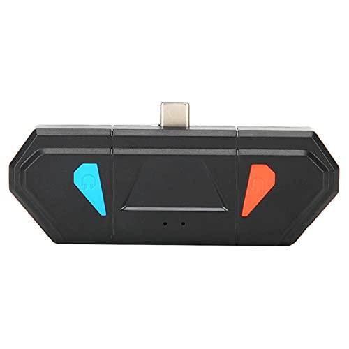 HJQFDC Transmisor de Adaptador Bluetooth Typec Pantalla de proyección 2.402GHz-2.480GHz Transmisor Bluetooth para Interruptor, para Interruptor, para Switch Lite a través de Mei