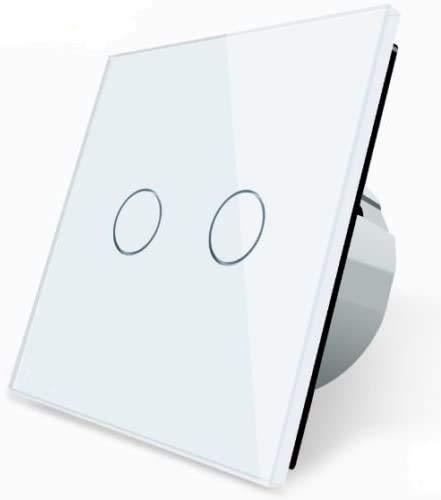 Wechselschalter Kreuzschalter Lichtschalter VLC702S-11 LIVOLO Weiss