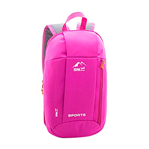 Skxinn Lightweight Backpack Casual Daypack for Damen und Herren, Water Resistant Sports Trekking Rucksack for Travel, Outdoor Activities(Hotpink,22cm(W) X 40cm(H) X 13cm(T))