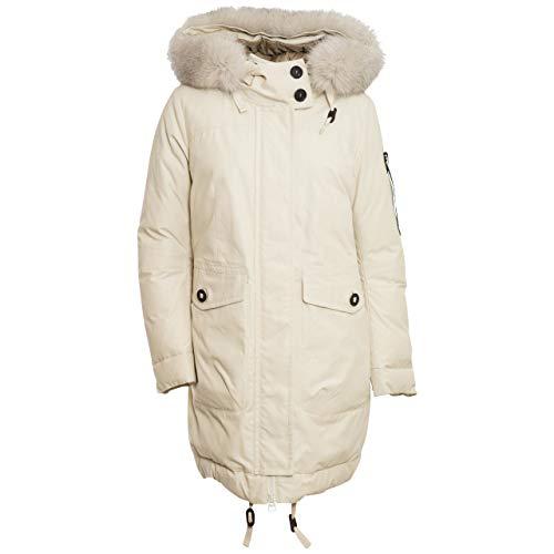 PEUTEREY Damen Daunen-Parka Hurdy CR Fur beige - 42