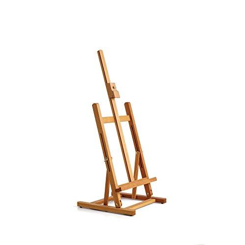 Tischstaffelei Varde für Keilrahmen, bis 57 cm höhe, Abmessung 30,5 x 32,4 x 77 cm