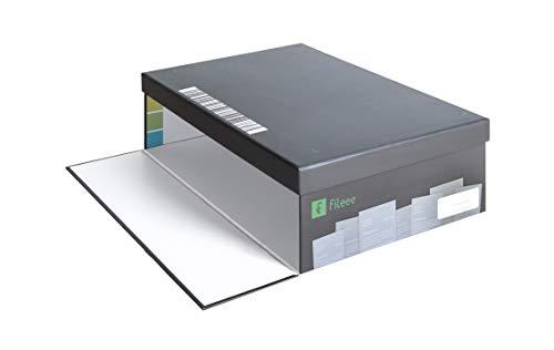 fileeeBox 2.0 - Dokumente mit dem Smartphone scannen, Archivierungsbox für Dokumente, günstiger Dokumentenscanner für Handys und Smartphones