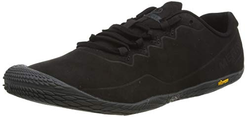 Merrell Herren Vapor Glove 3 Luna Leather Sneaker, Schwarz (Black Black), 43 EU