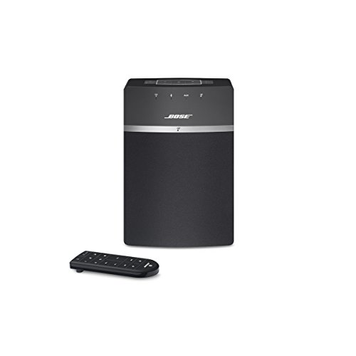 Bose SoundTouch 10, sistema musicale wireless, adatto per Alexa, Bluetooth/Wi-Fi, colore Nero