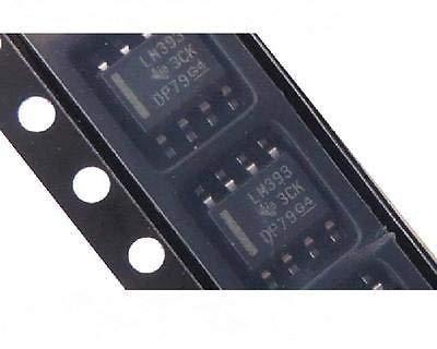 UIOTEC 10PCS LM393DR LM393 LM393D SOP-8 SOP8 Comparator Dual Low Power*