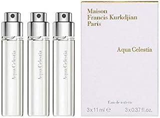 Maison Francis Kurkdjian AQUA CELESTIA Eau de Toilette Travel Spray Refill, 3 x 11ml