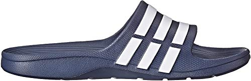 adidas Duramo Slide Sandal,Dark Blue/White/Dkblue,18 M US