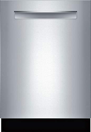 Bosch 24″ Benchmark Series Stainless Steel Pocket Handle Dishwasher – SHP88PZ55N