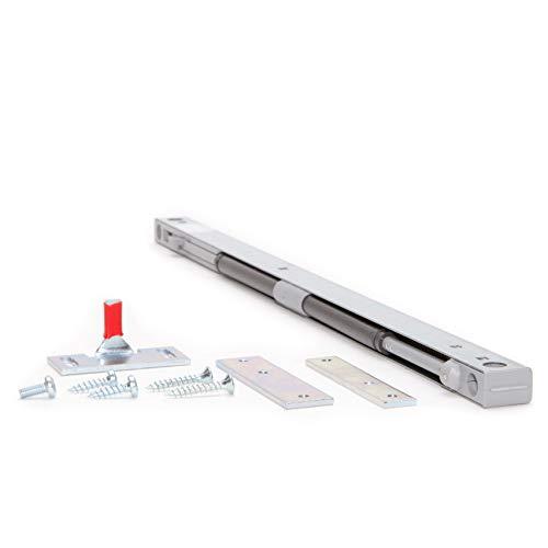 Hibitaro Softclose für Bodengeführte Schiebetüren | Gedämpfter Selbsteinzug | Für max. 60 Kg ausgelegt
