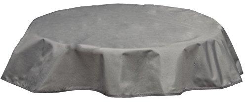 beo Table d'extérieur Plafond imperméable, Rond, diamètre 120 cm, Gris Clair