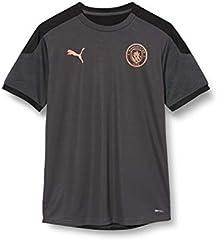 PUMA MCFC Training Jersey Jr - Camiseta Unisex niños
