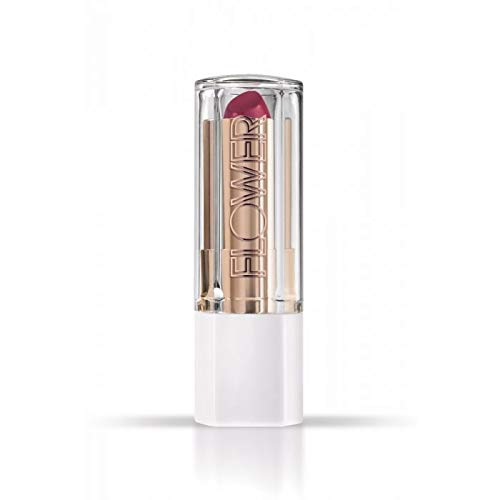 Flower Beauty Petal Pout Lipstick - Cruelty Free - Nourishing & Highly Pigmented Lip Color with Antioxidants (Rouge Berry - Cream)