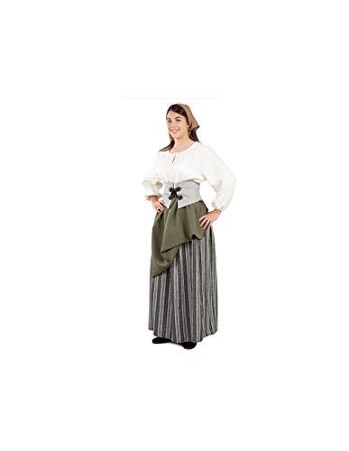 DISBACANAL Disfraz de tabernera Medieval para Mujer - -, M