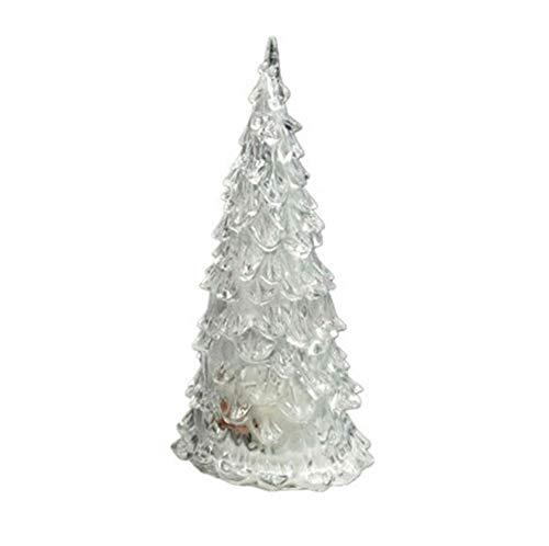 Yhhzw 1 Stück Leuchtende Romantische Acryl Weihnachtsbaum Led-Licht Valentinstag Nacht Club Party Weihnachtsferien Dekor Lampe Licht