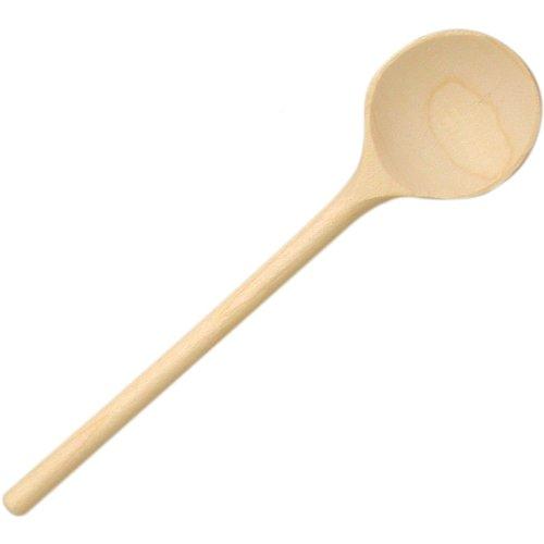 Coccinelle 530535 Cuillère en bois 18 cm rond/non perforés